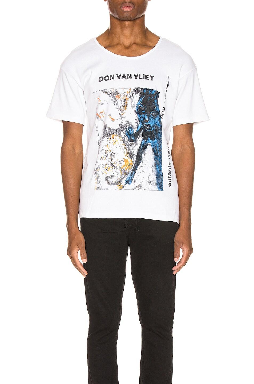 Image 1 of Enfants Riches Deprimes Don Van Vleet Tee in White