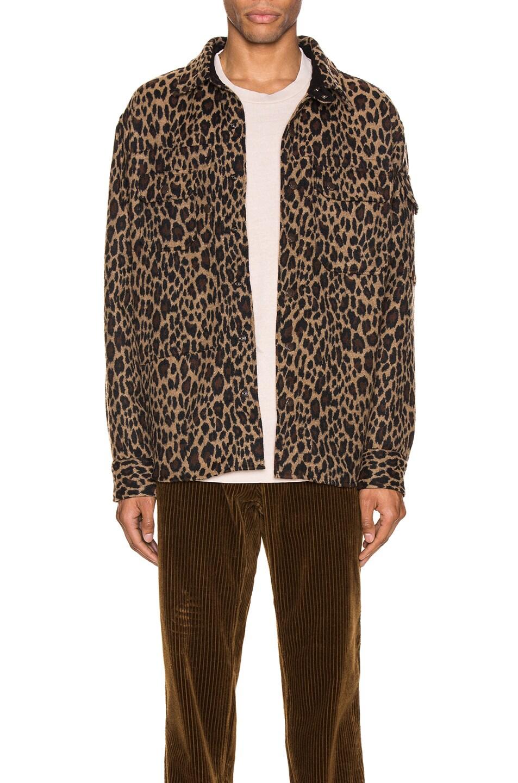 Image 1 of Engineered Garments Field Shirt Jacket in Brown