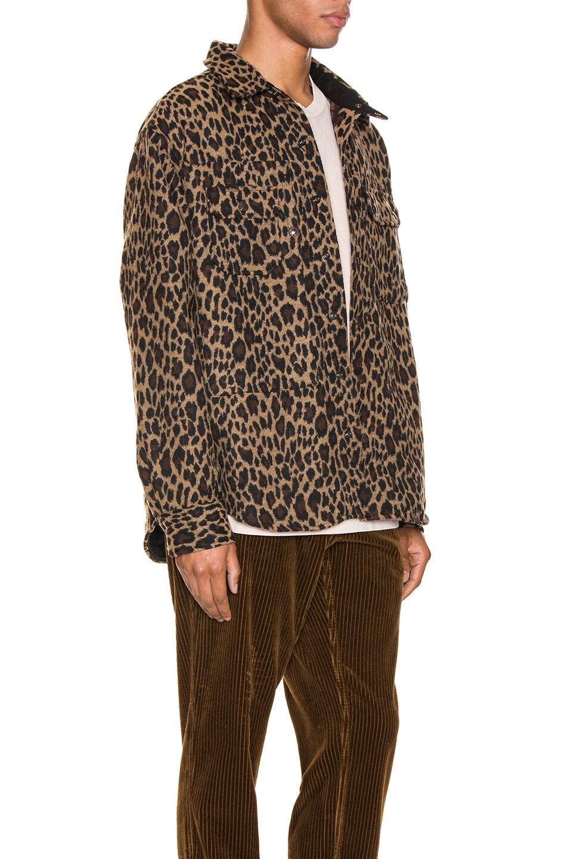 Image 3 of Engineered Garments Field Shirt Jacket in Brown