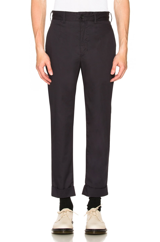 Image 1 of Engineered Garments Andover Pant in Dark Navy