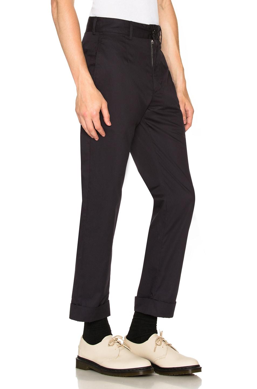 Image 2 of Engineered Garments Andover Pant in Dark Navy