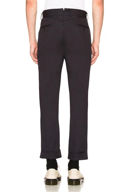 Image 3 of Engineered Garments Andover Pant in Dark Navy
