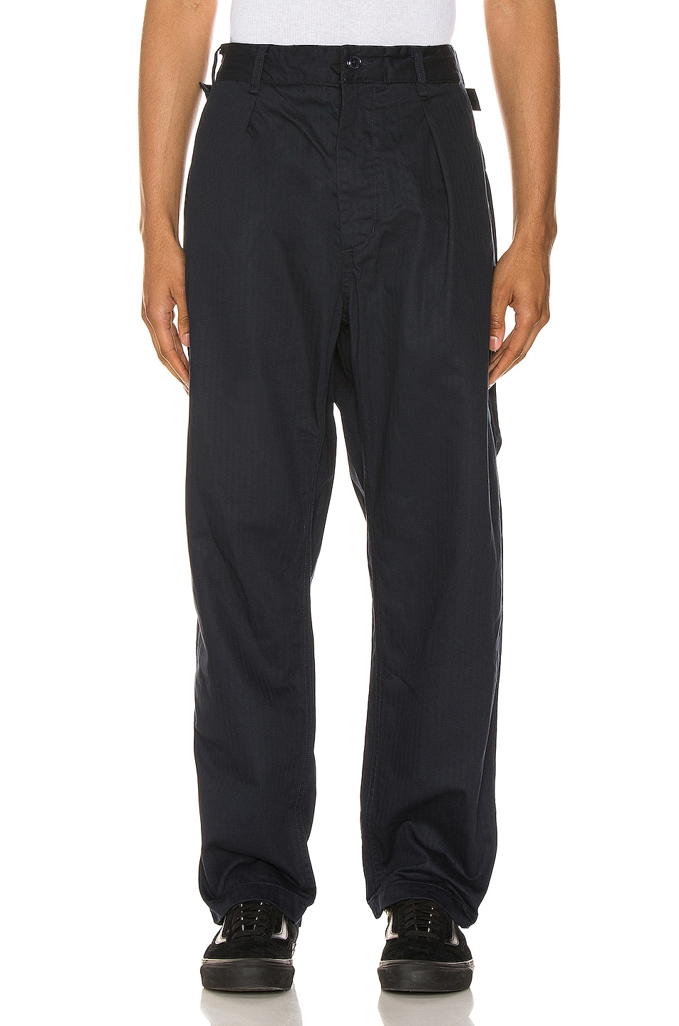 Image 1 of Engineered Garments Ground Pant in Dark Navy