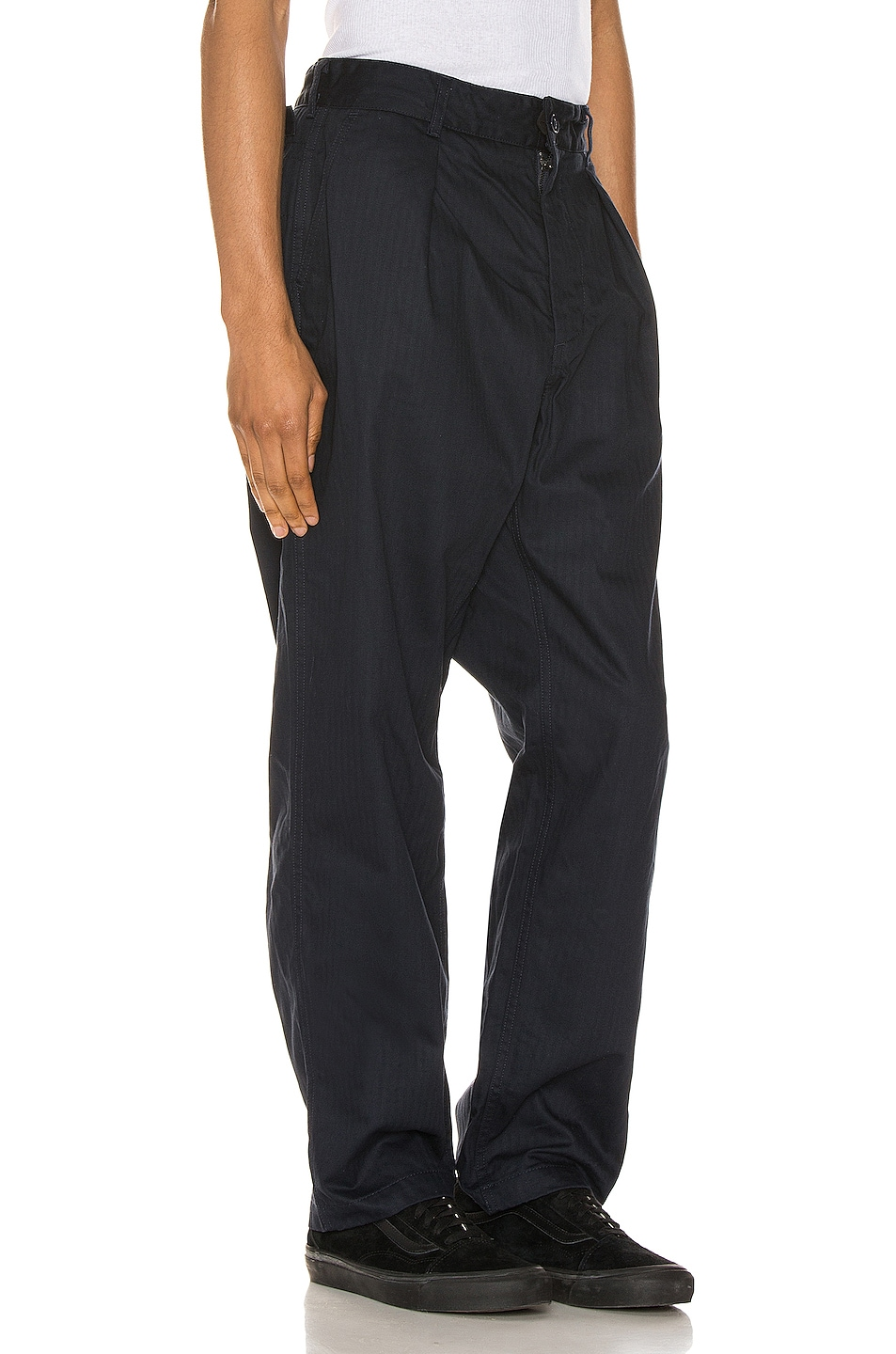 Image 2 of Engineered Garments Ground Pant in Dark Navy