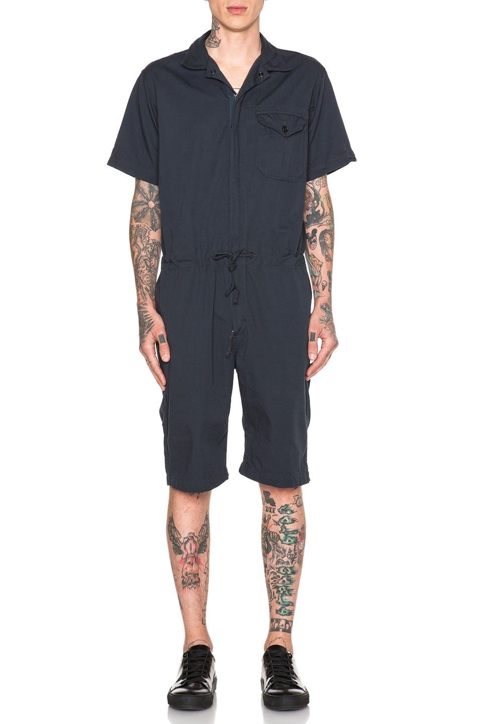 Image 1 of Engineered Garments Combi Suit in Dark Navy