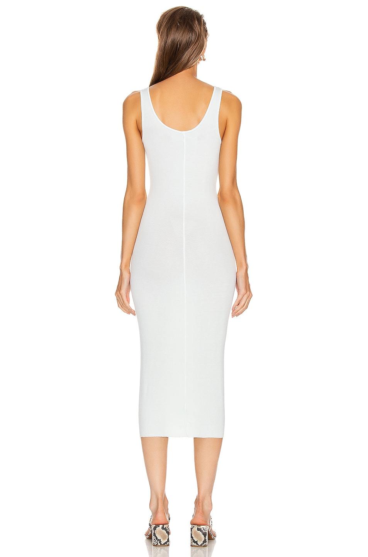 Image 3 of Enza Costa Rib Tank Midi Dress in Mint