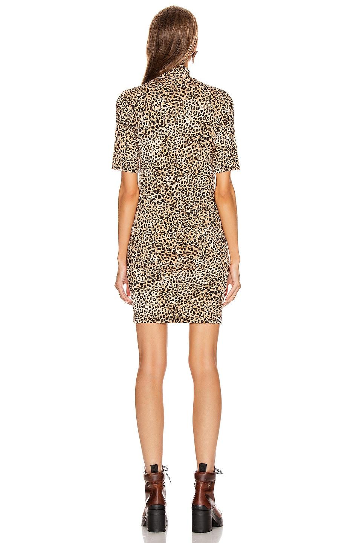 Enza Costa Tops Half Sleeve Turtleneck Mini Dress
