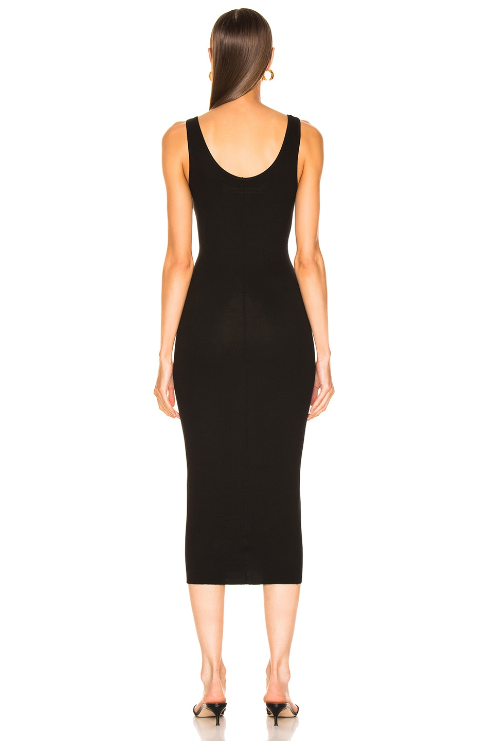 Image 3 of Enza Costa Rib Tank Viscose-Blend Dress in Black