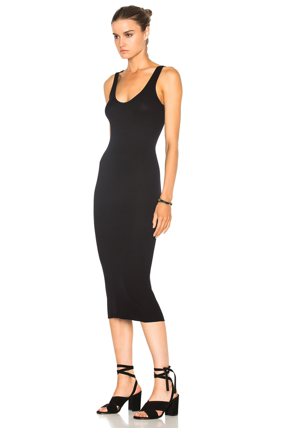 Image 2 of Enza Costa Rib Tank Dress in Nuit