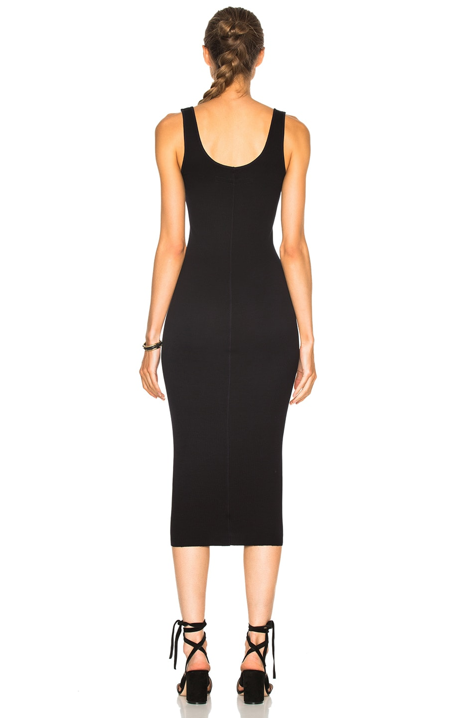 Image 4 of Enza Costa Rib Tank Dress in Nuit