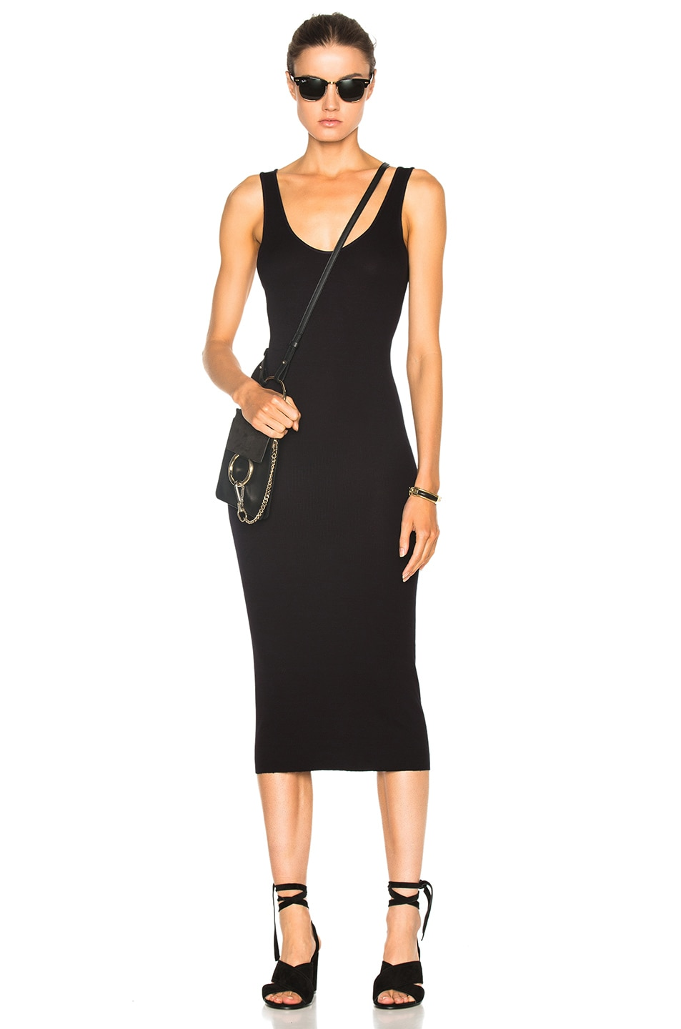 Image 5 of Enza Costa Rib Tank Dress in Nuit