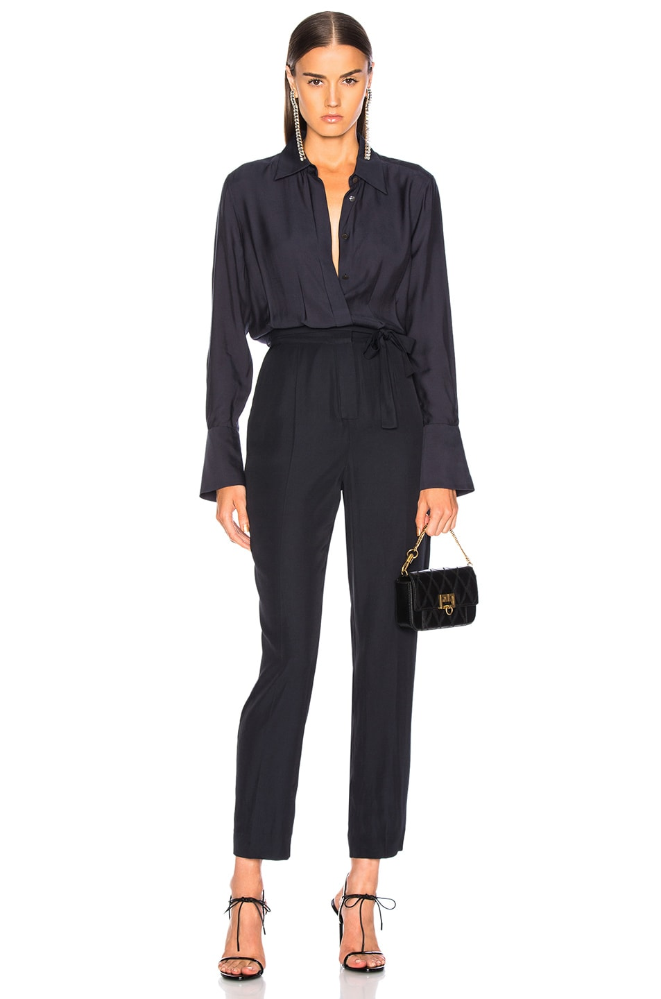 Image 1 of Equipment Andrea Jumpsuit in Eclipse