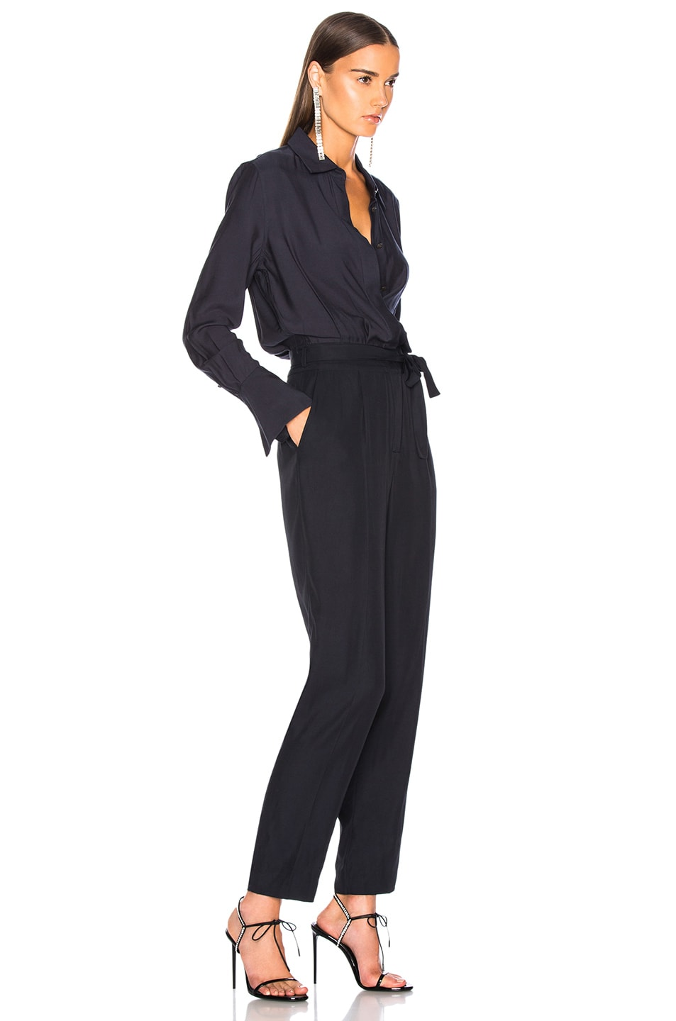 Image 2 of Equipment Andrea Jumpsuit in Eclipse