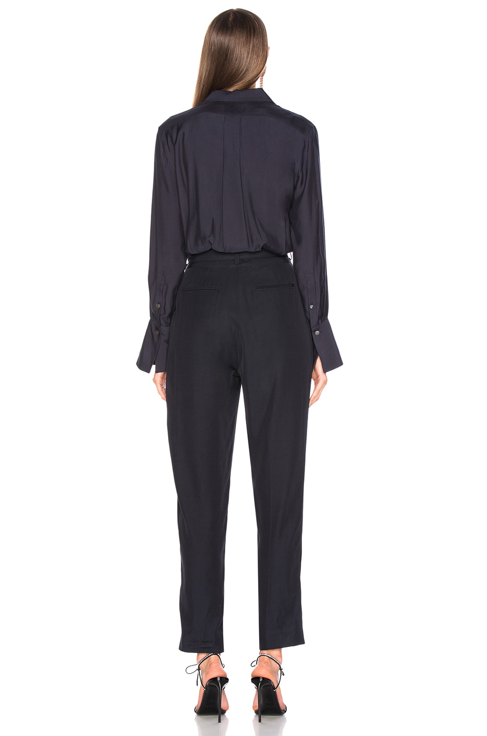 Image 3 of Equipment Andrea Jumpsuit in Eclipse