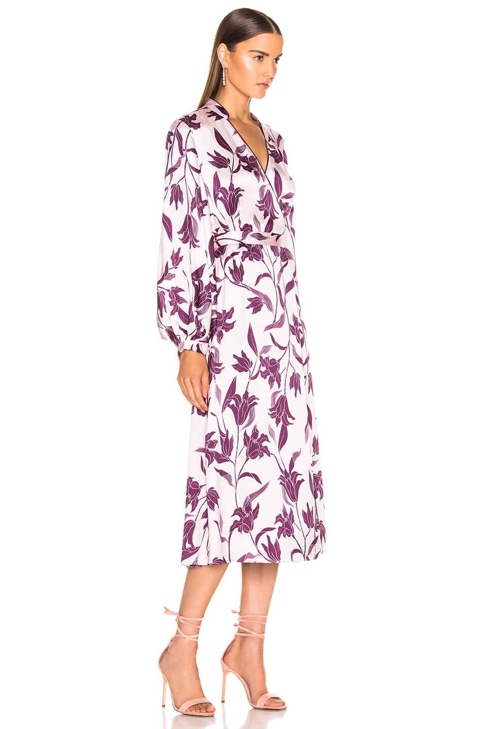 Image 2 of Equipment Andrese Dress in Purple Print