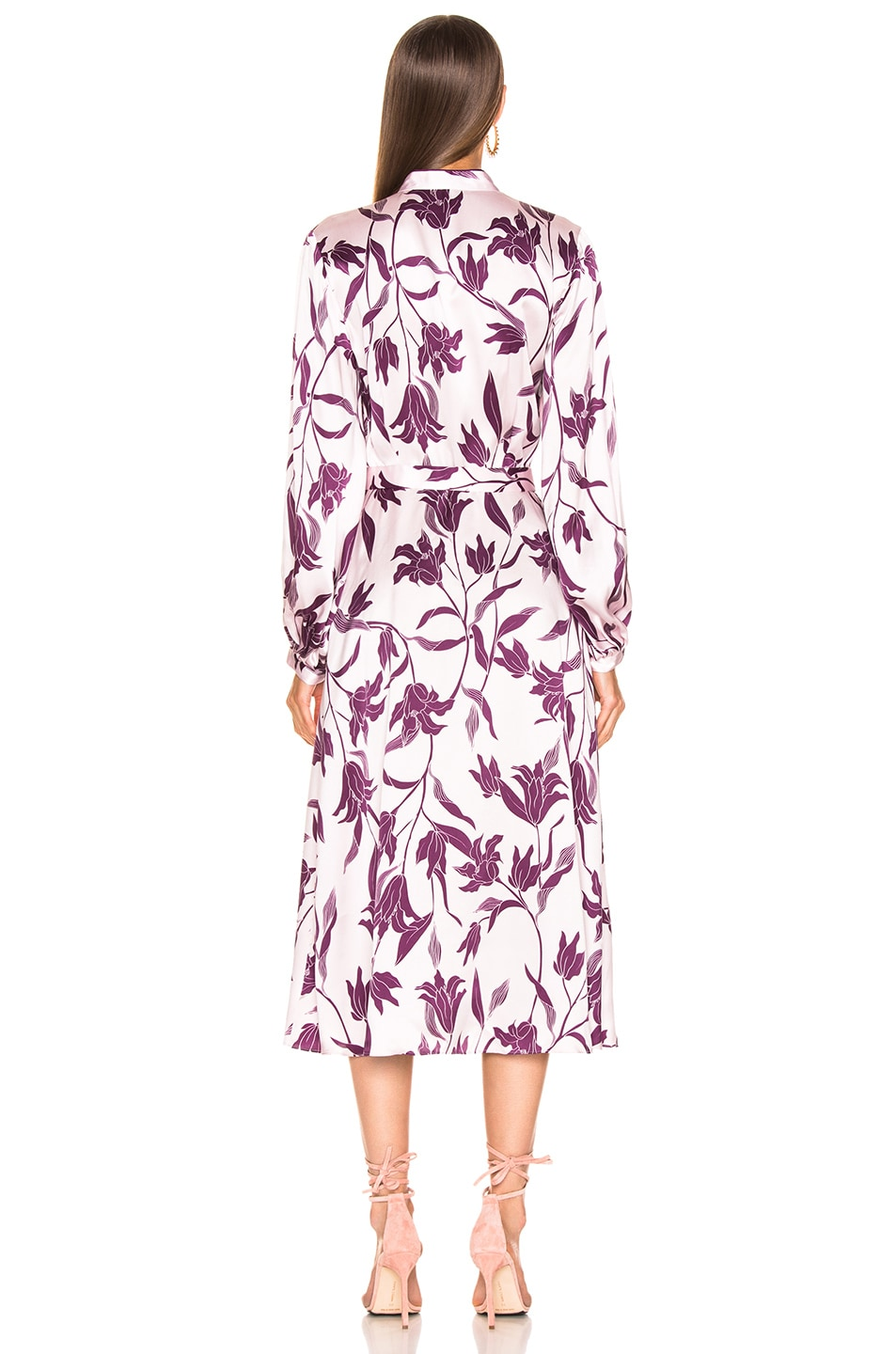 Image 3 of Equipment Andrese Dress in Purple Print