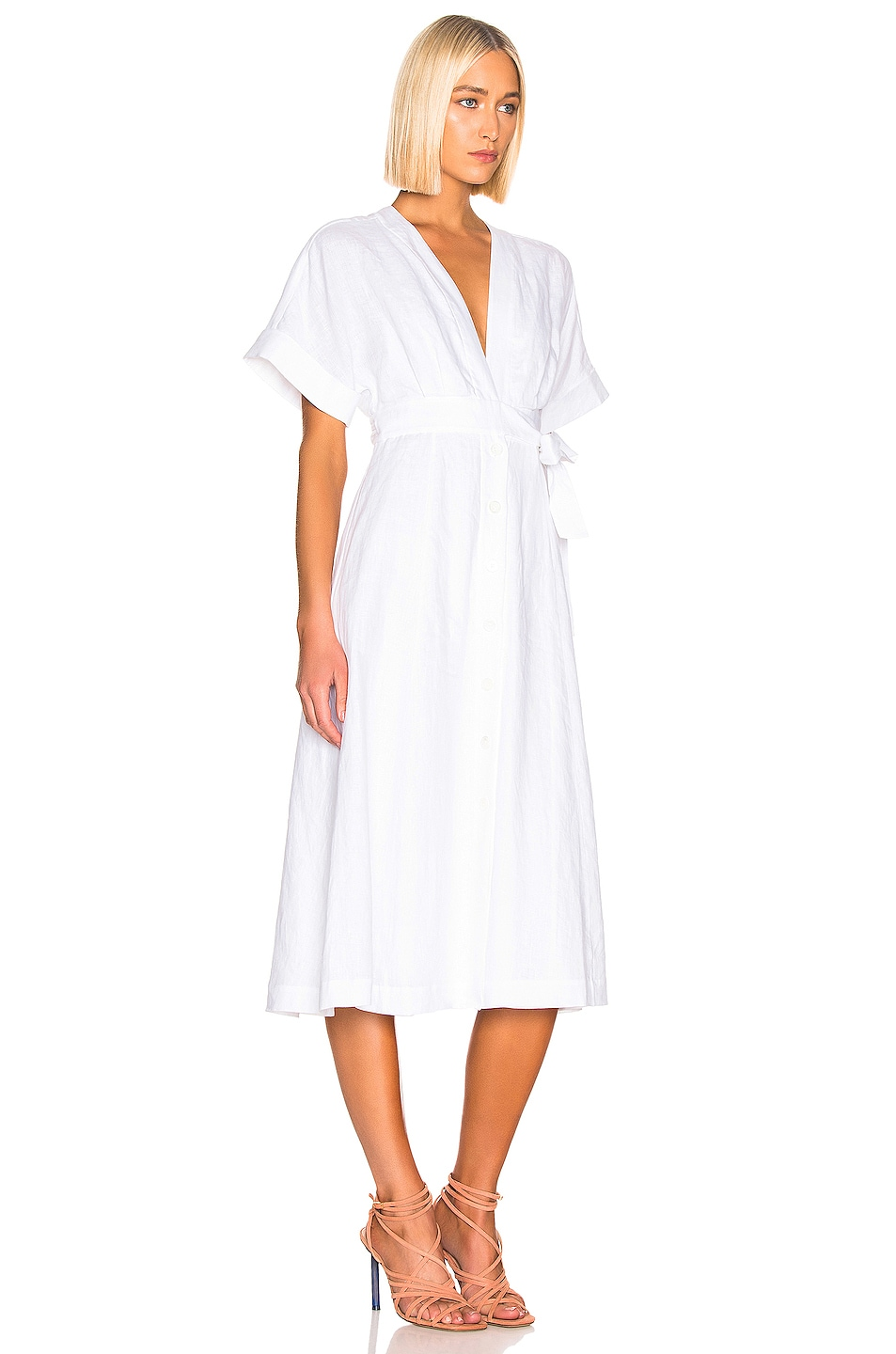 Image 2 of Equipment Nauman Dress in White