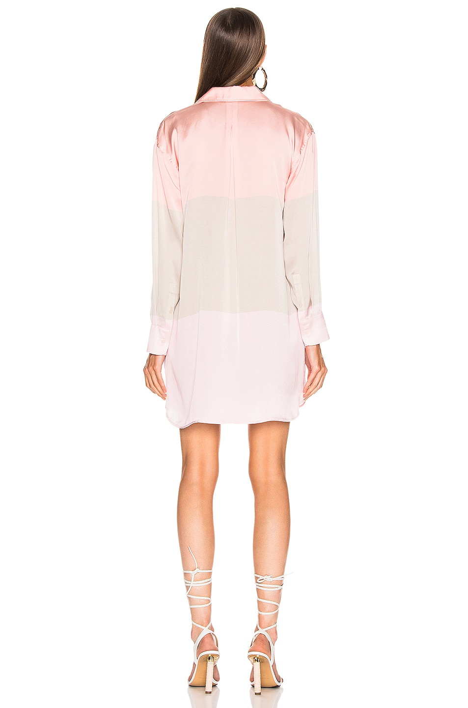 Image 3 of Equipment Lacene Mini Dress in Rose Cloud Multi