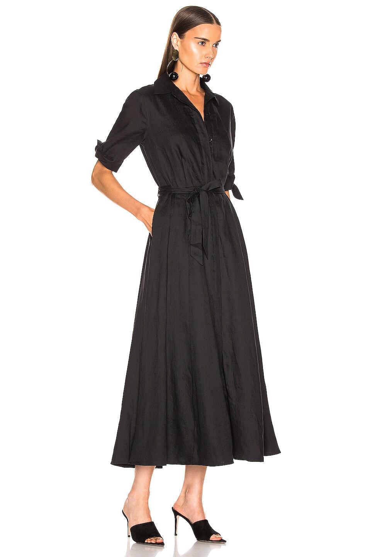 Image 2 of Equipment Irenne Midi Dress in True Black