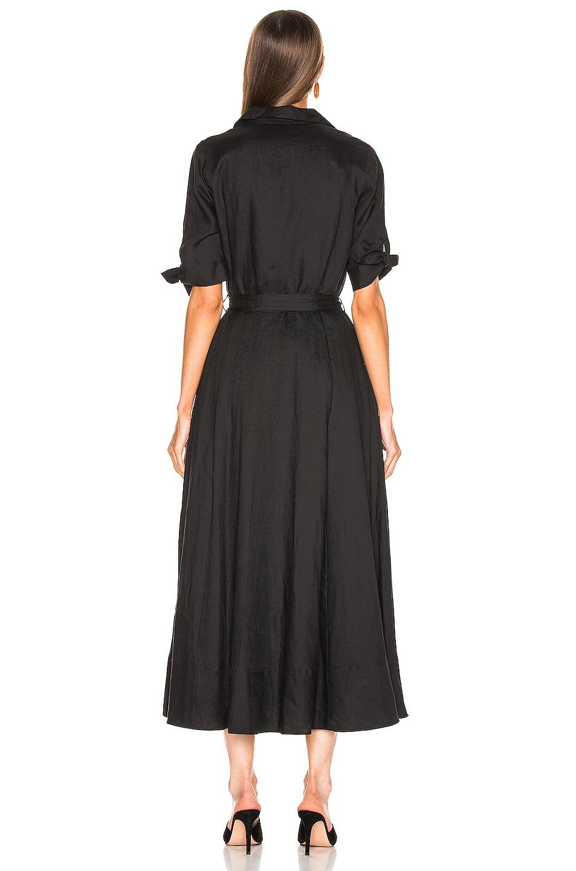 Image 3 of Equipment Irenne Midi Dress in True Black