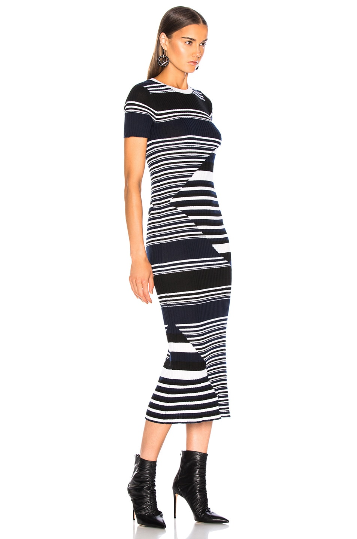 Image 2 of Equipment Dewey Sweater Dress in Eclipse Multi