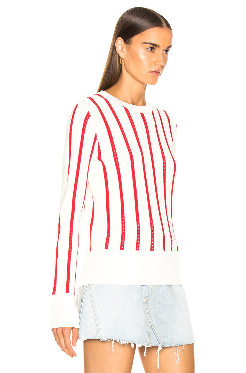 Image 2 of Equipment Amrit Sweater in Nature White & Bold Moon