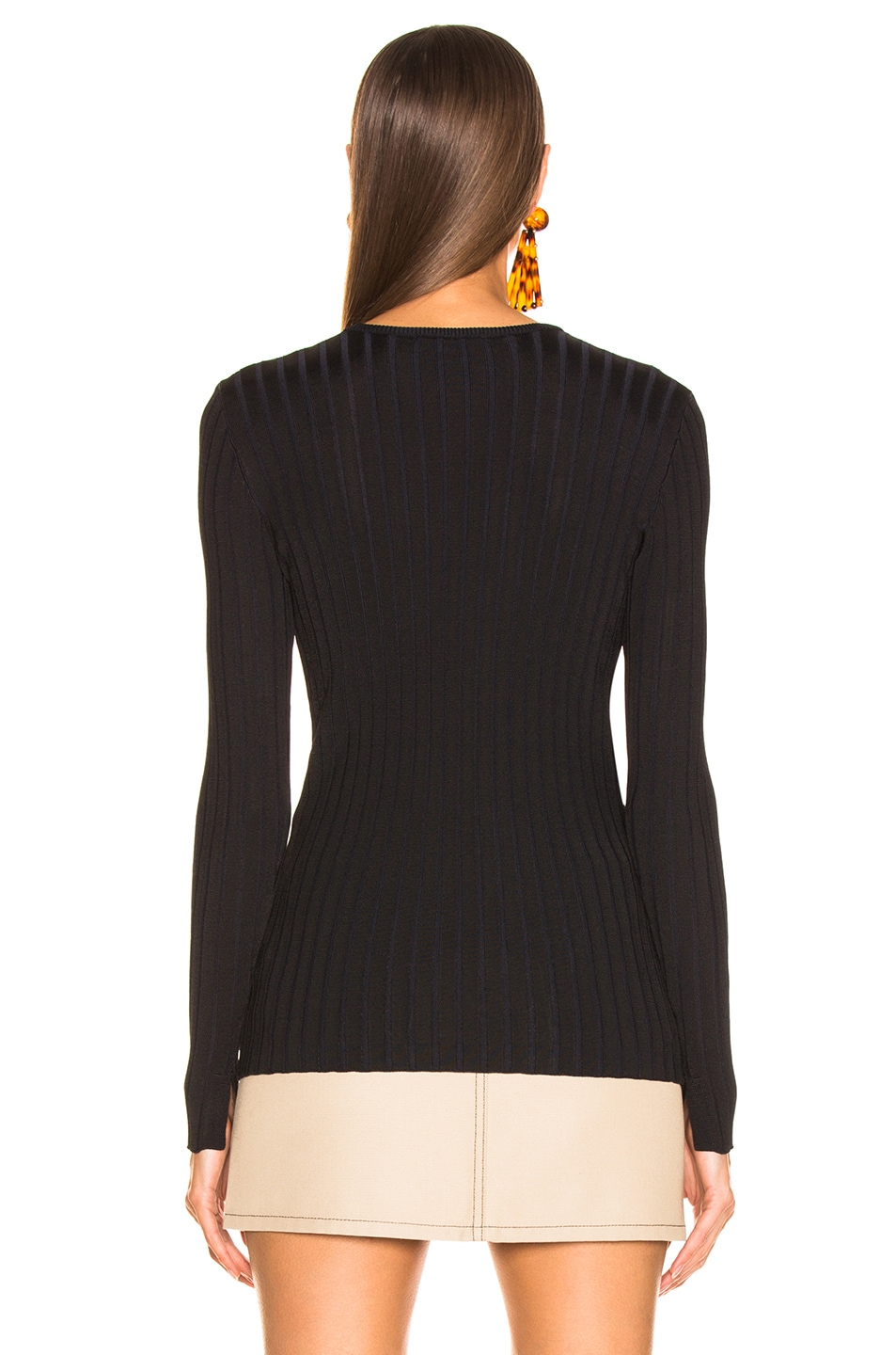 Image 3 of Equipment Saviny Sweater in Black Eclipse