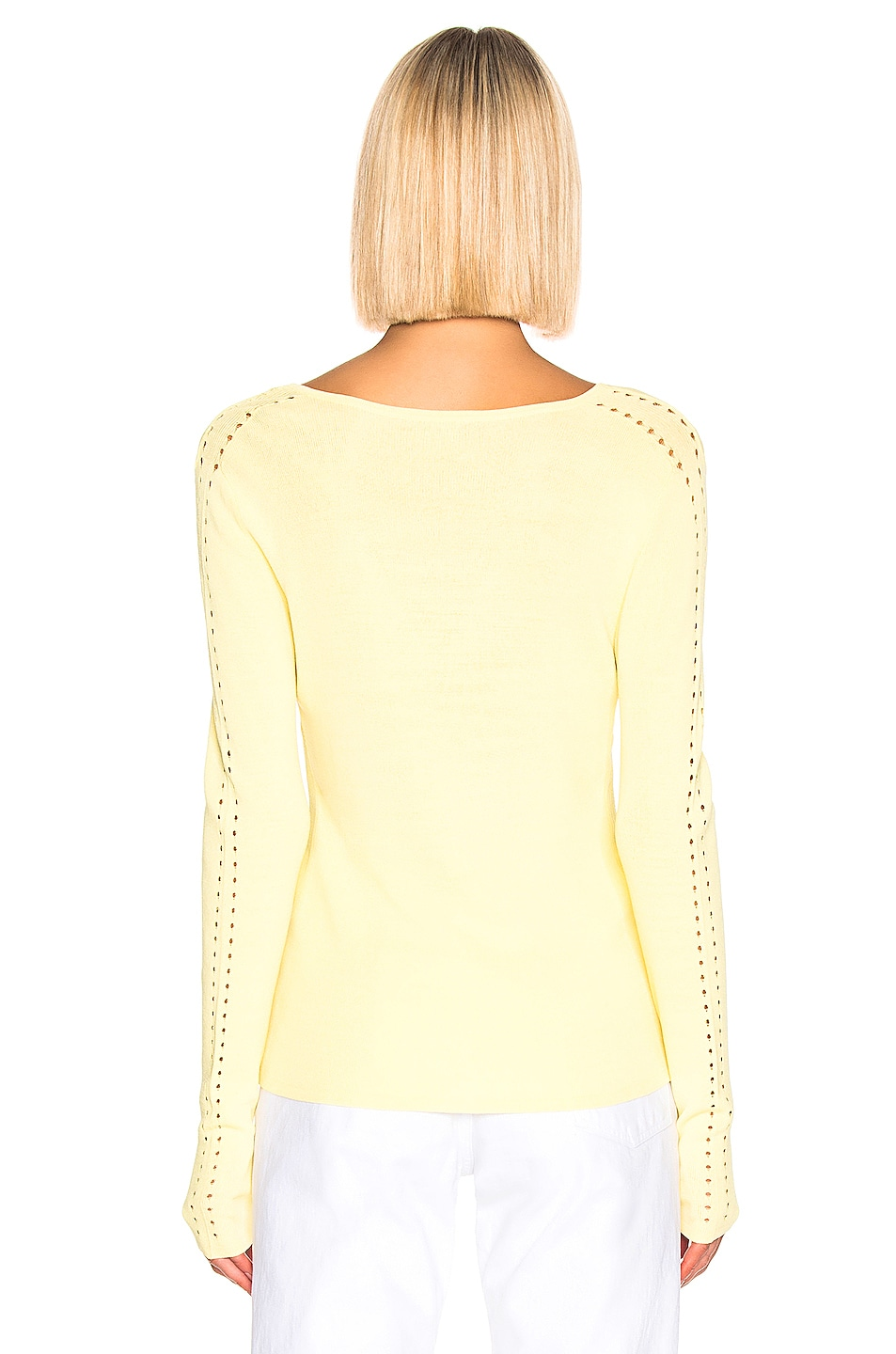 Image 3 of Equipment Myrian Sweater in Limon Sorbet