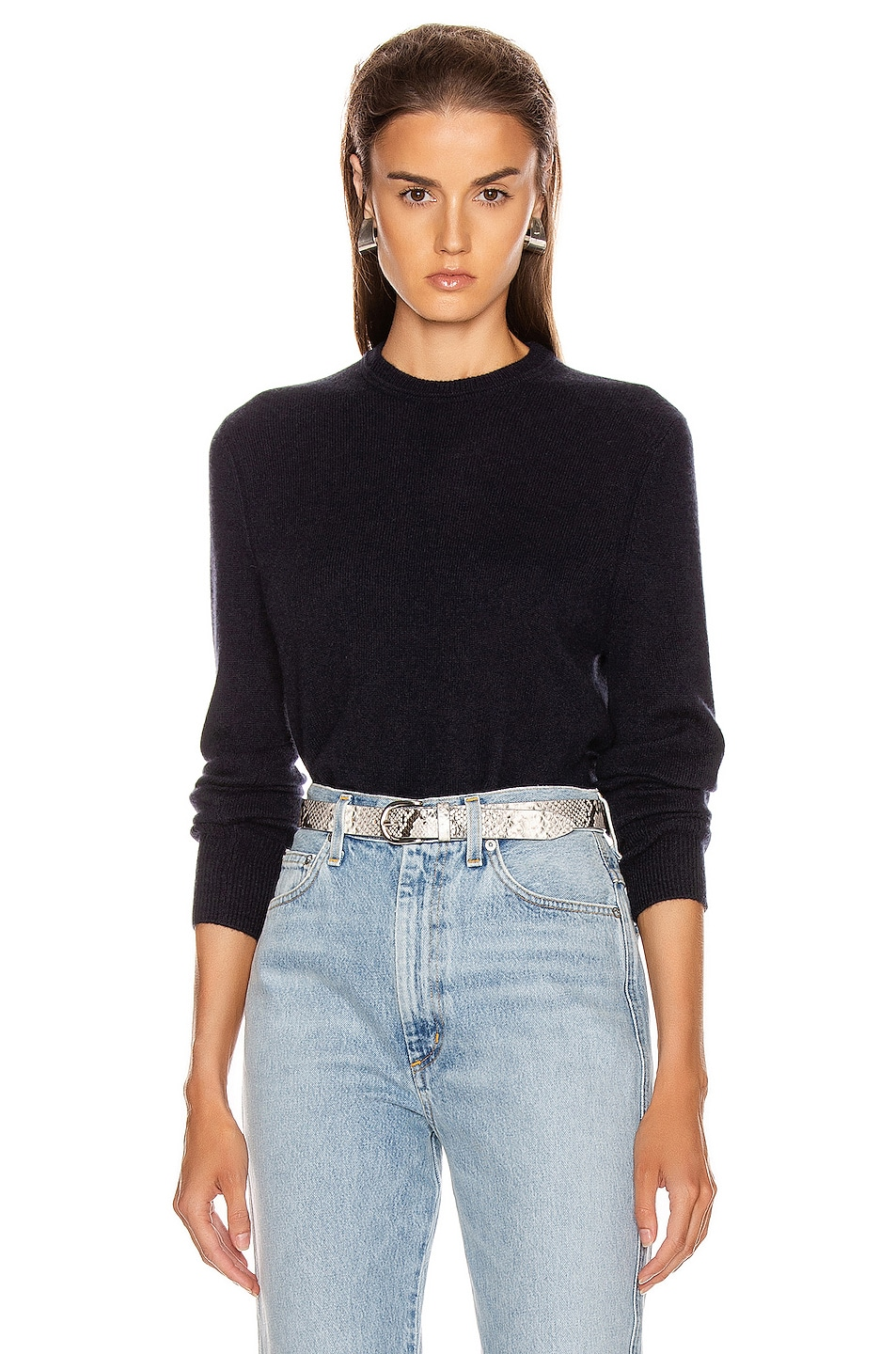 Image 1 of Equipment Sanni Crew Neck Sweater in Eclipse