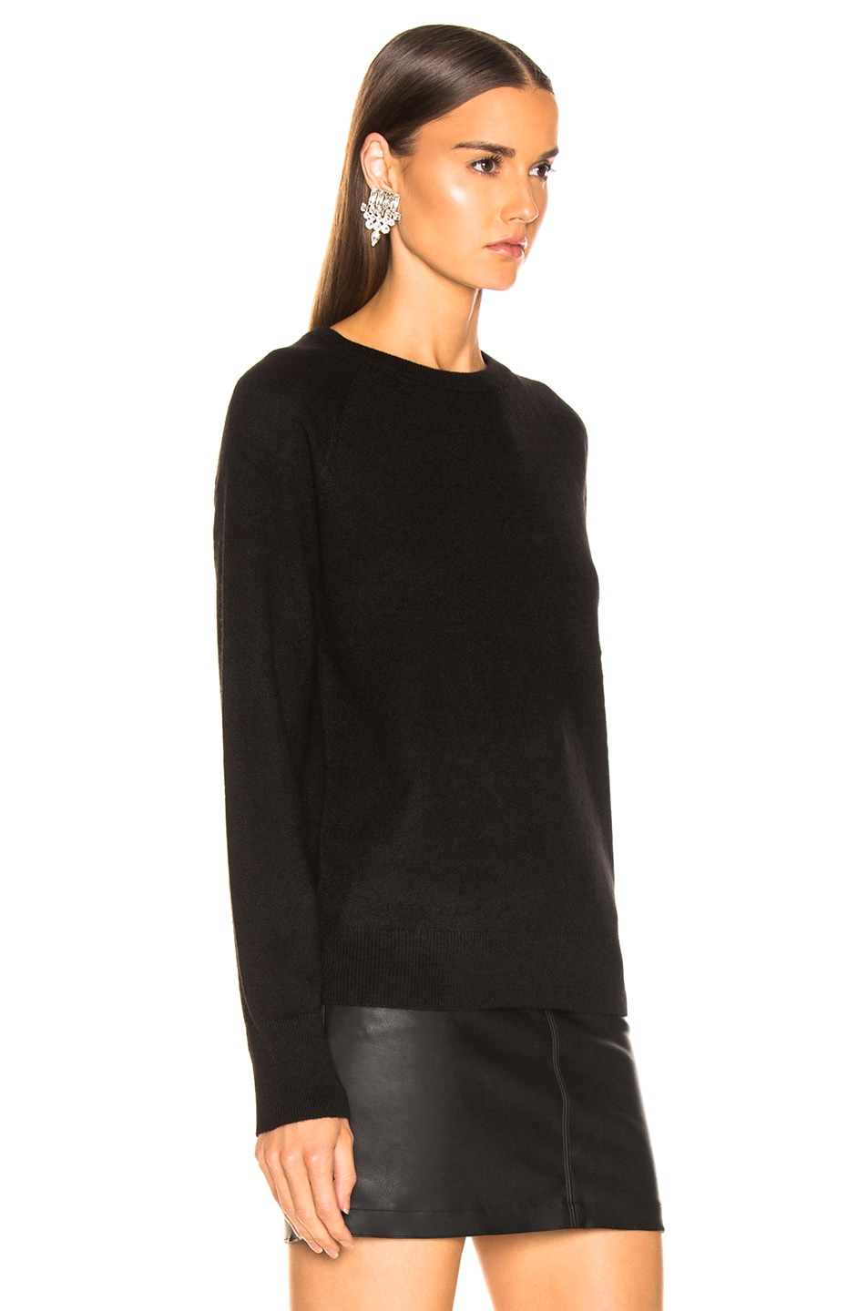 Image 2 of Equipment Sloane Crew Neck in Black