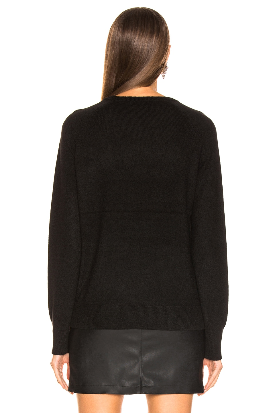 Image 3 of Equipment Sloane Crew Neck in Black