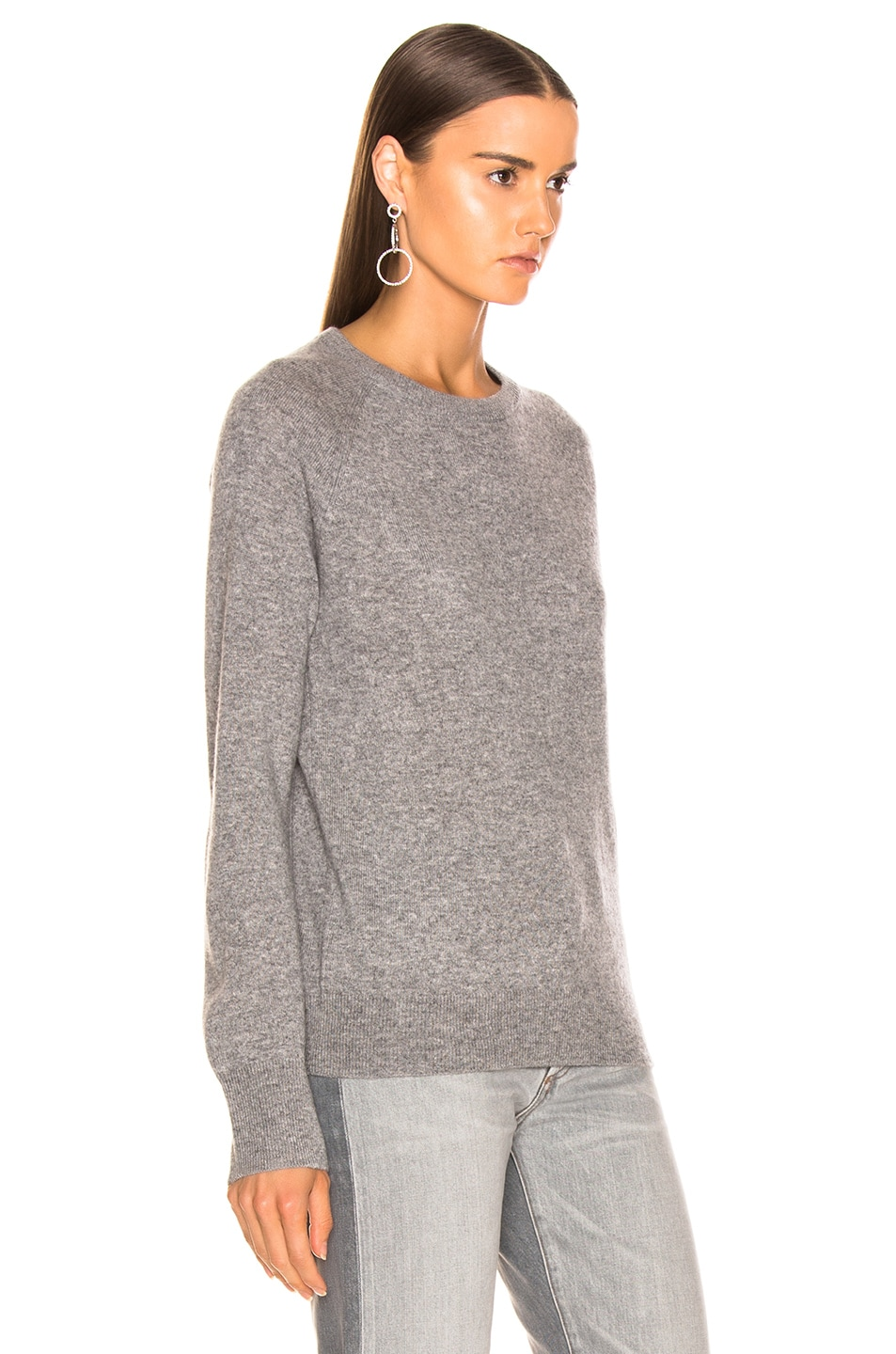 Image 2 of Equipment Sloane Cashmere Crew in Heather Grey