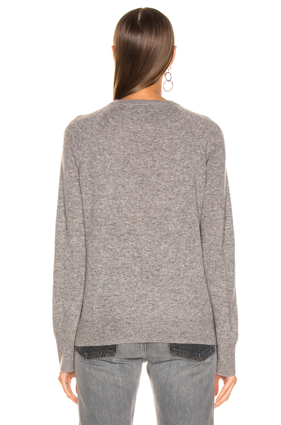 Image 3 of Equipment Sloane Cashmere Crew in Heather Grey