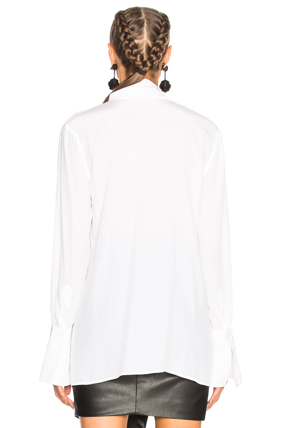9e6f2f1c145376 Image 3 of Equipment Jacqueleen Blouse in Bright White