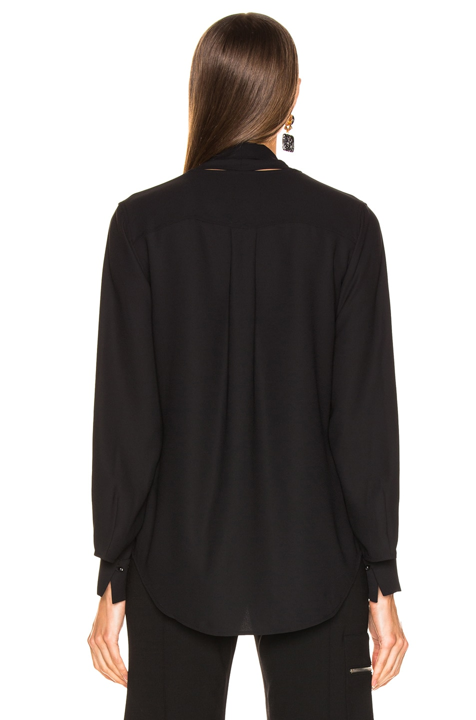 Image 3 of Equipment Haty Top in Black