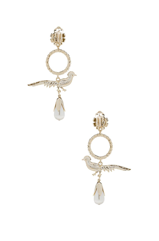 Image 3 of Erdem Earrings in Bird