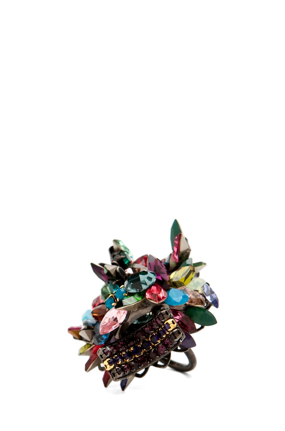 Image 1 of Erickson Beamon Confetti Ring in Confetti