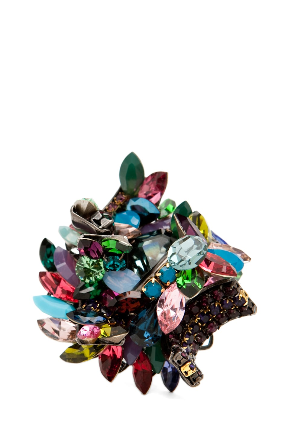 Image 2 of Erickson Beamon Confetti Ring in Confetti