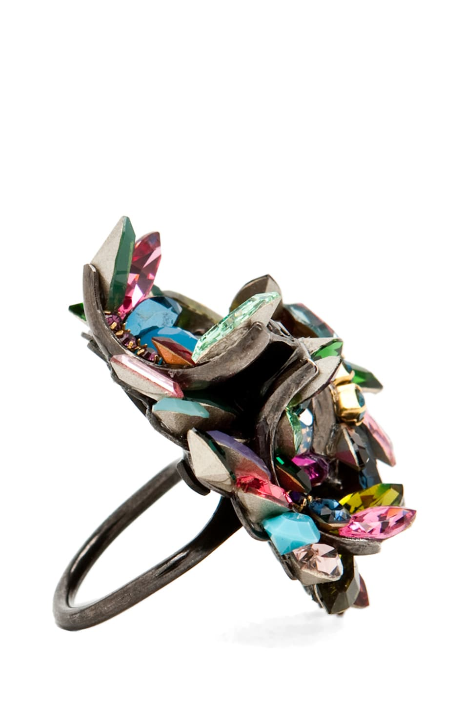 Image 3 of Erickson Beamon Confetti Ring in Confetti