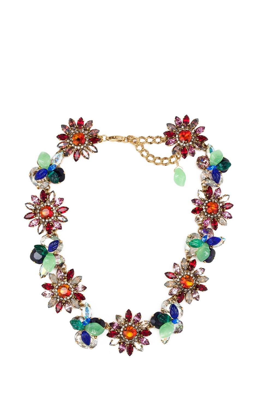 Image 1 of Erickson Beamon Garden Party Necklace in Multi