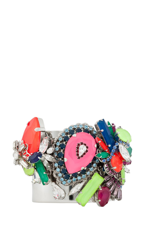 Image 1 of Erickson Beamon Color Me Crazy Bracelet in Multi
