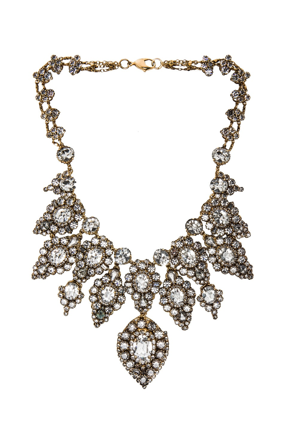 Image 1 of Erickson Beamon Hello Sweetie Necklace in Crystal