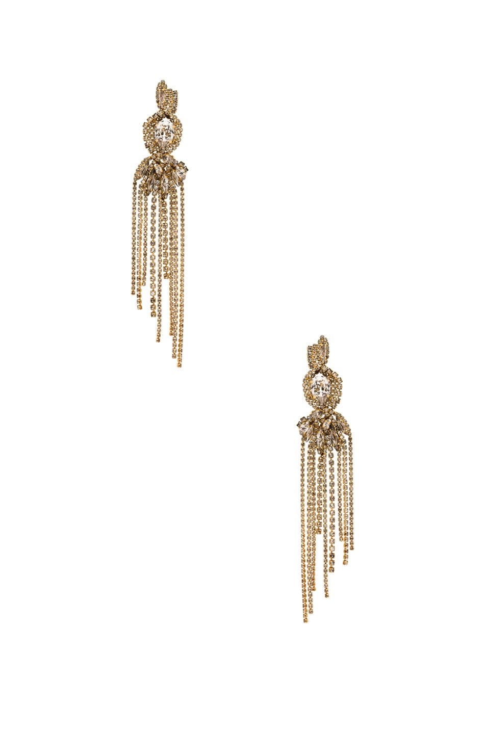 Image 1 of Erickson Beamon Young & Innocent Earrings in Gold