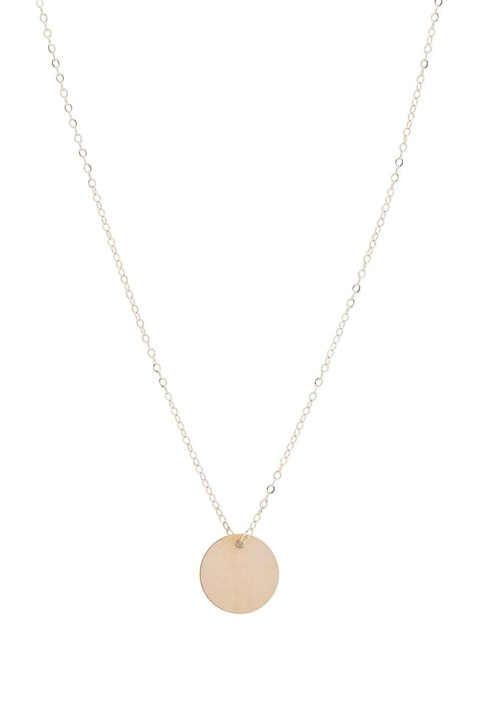 Image 1 of ERTH 14K Gold Plate Choker in Gold