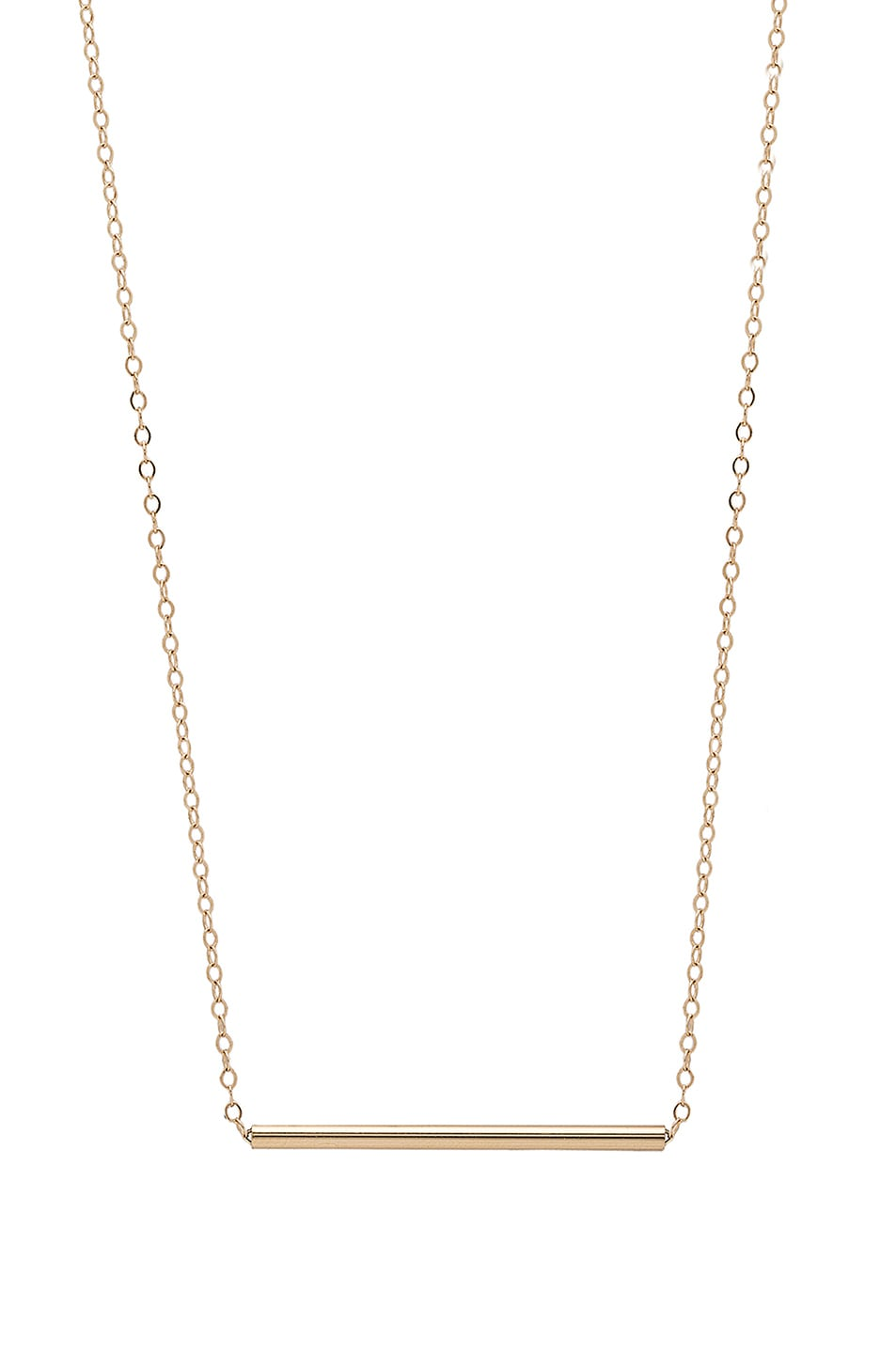Image 1 of ERTH 14K Gold Bar Choker in Gold