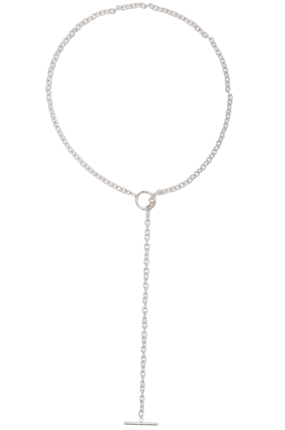 Image 1 of ERTH Drop Choker in Silver