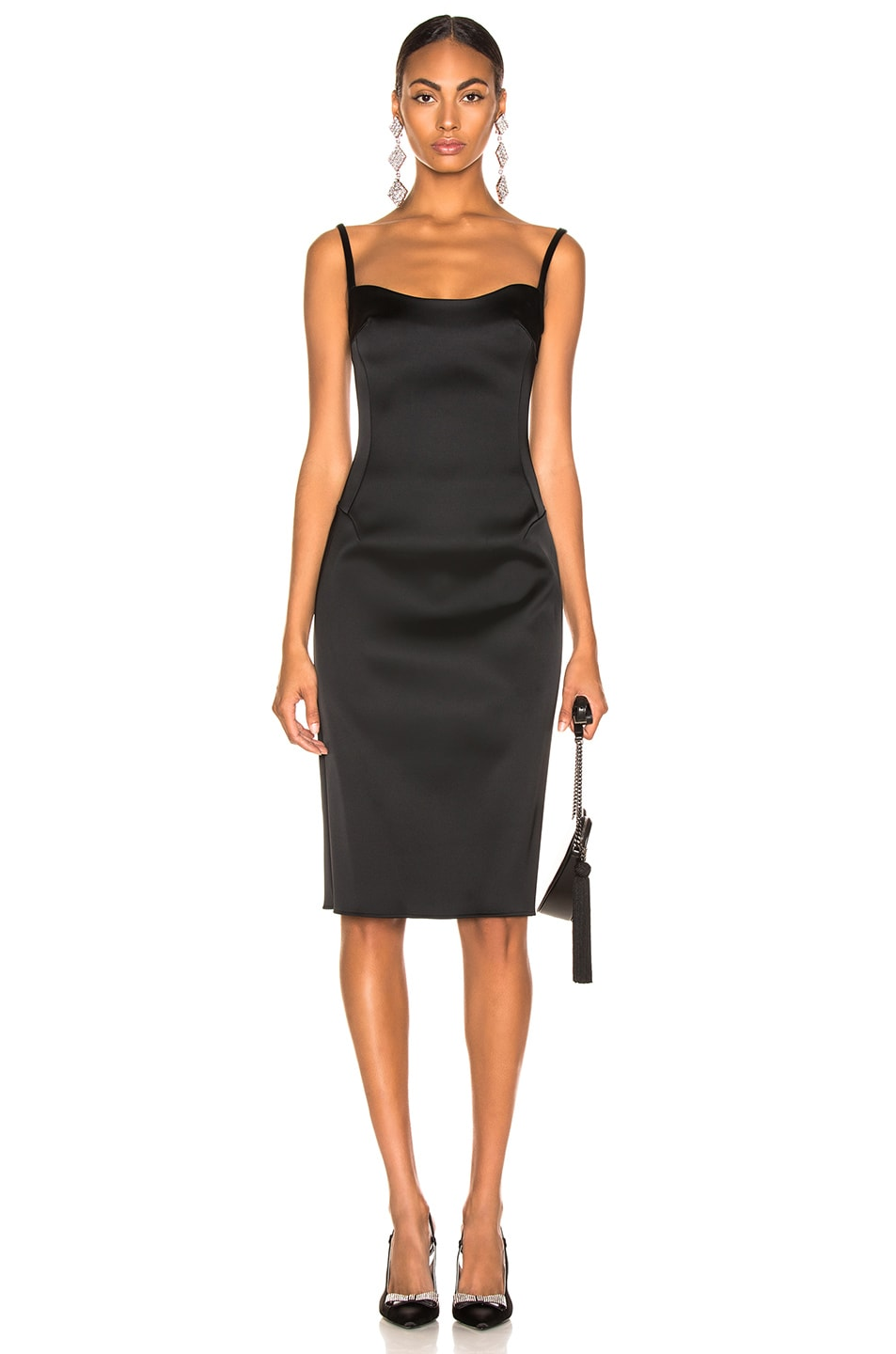 Image 1 of Esteban Cortazar Pencil Dress in Black