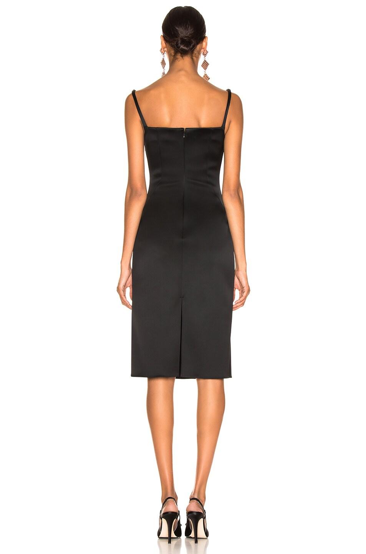 Image 3 of Esteban Cortazar Pencil Dress in Black