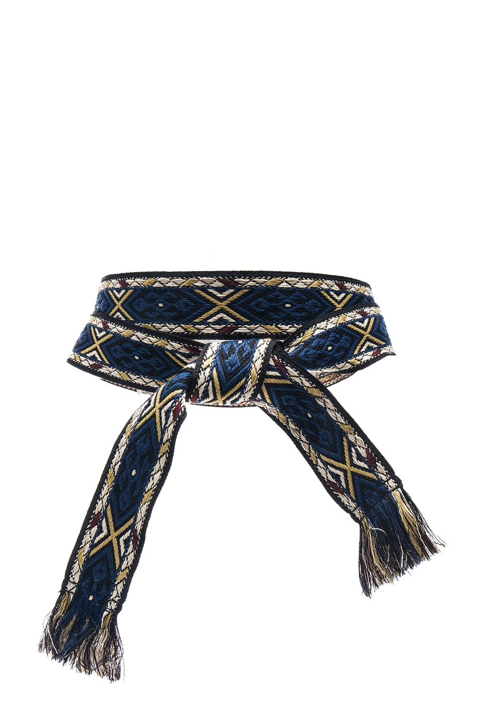 Image 1 of Isabel Marant Etoile Ulan Carpet Belt in Blue