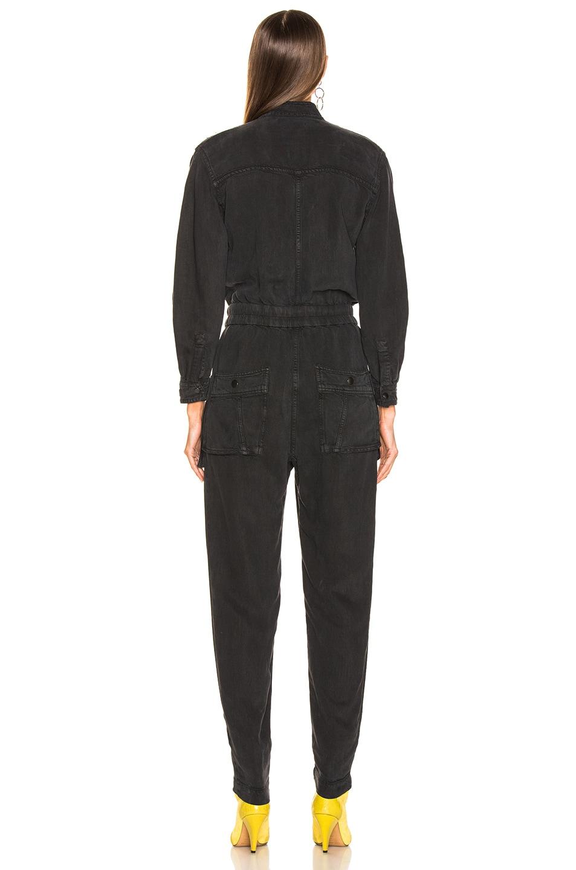 Image 3 of Isabel Marant Etoile Lashay Jumpsuit in Faded Black